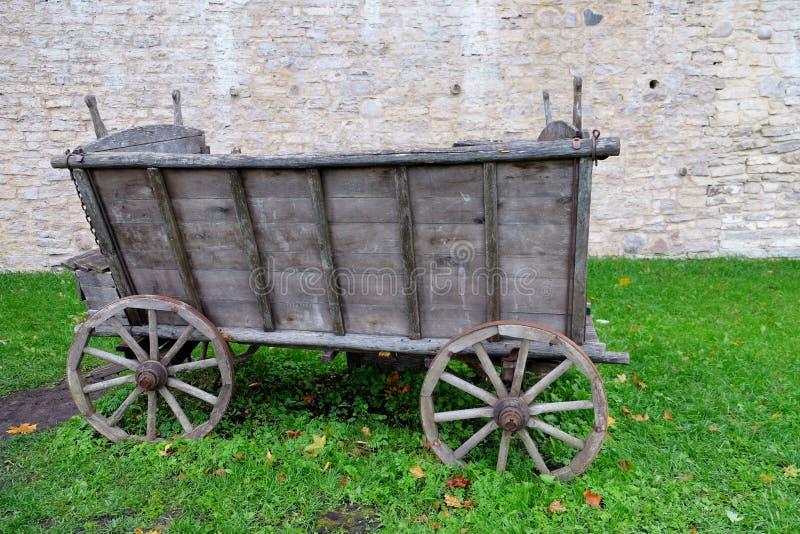 Stary chucka furgon fotografia stock