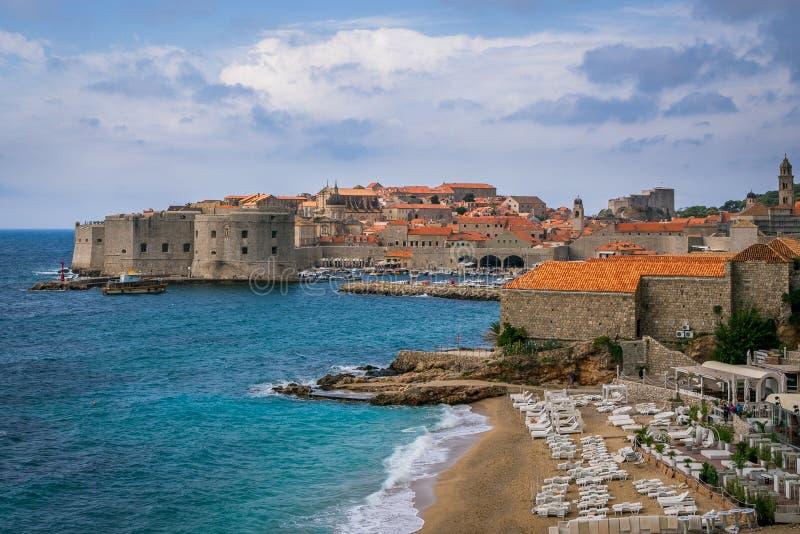 stary Croatia miasteczko Dubrovnik obraz royalty free