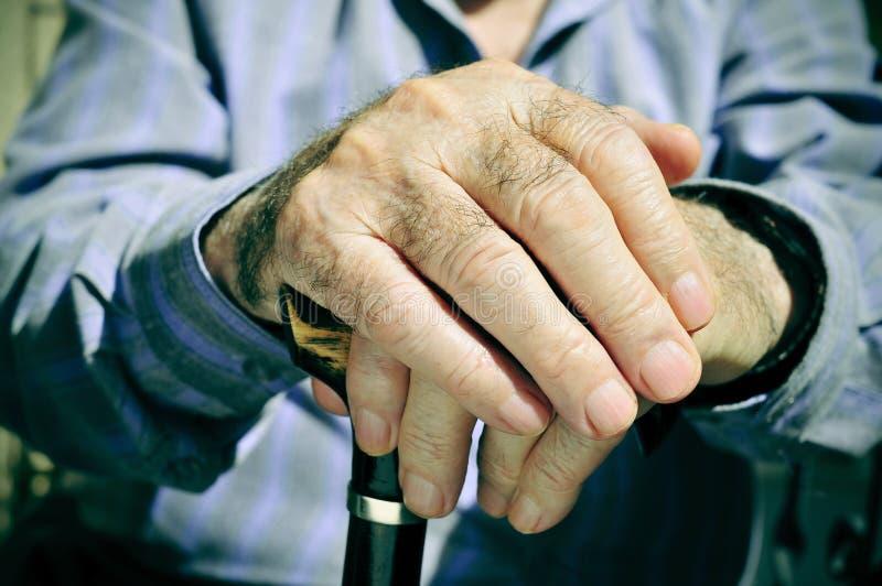 stary człowiek fotografia stock