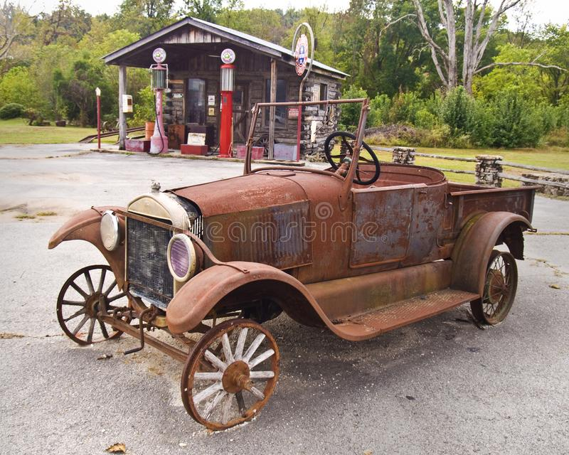 Stary czasu transport obrazy royalty free