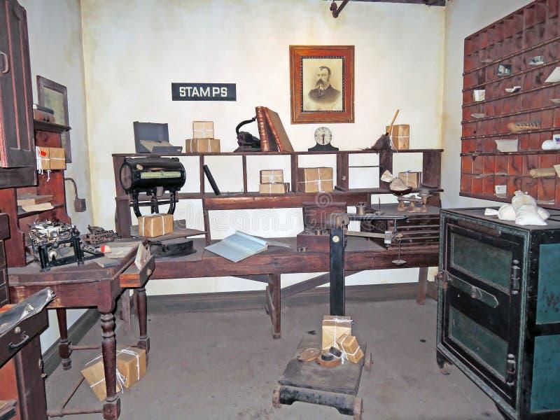 Stary czasu urząd pocztowy zdjęcie stock