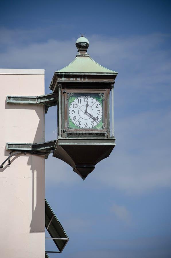 Stary czasu zegar zdjęcia royalty free