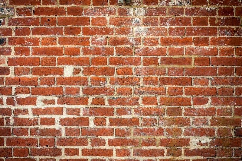 Stary czerwony ściana z cegieł tło obraz stock