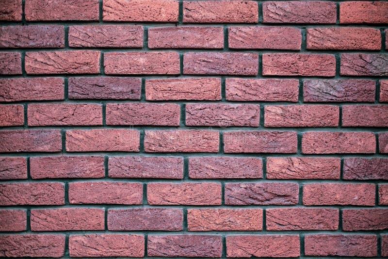 Stary czerwony brickwork obraz stock