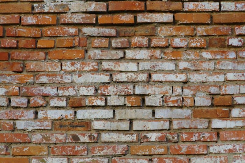 Stary czerwony brickwork obrazy stock