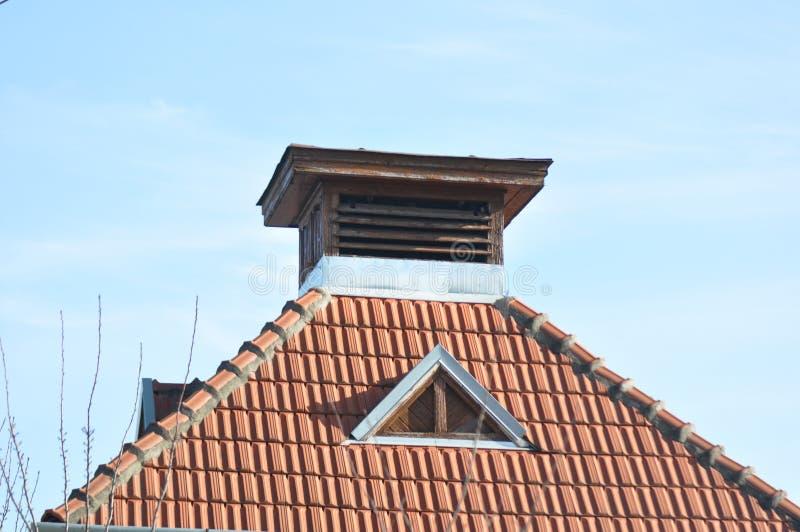 stary dach zdjęcie royalty free