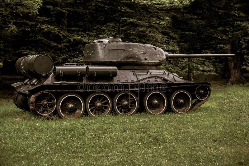 Stary Dekoracyjny Militarny działo Używać rocznik wojna obraz royalty free