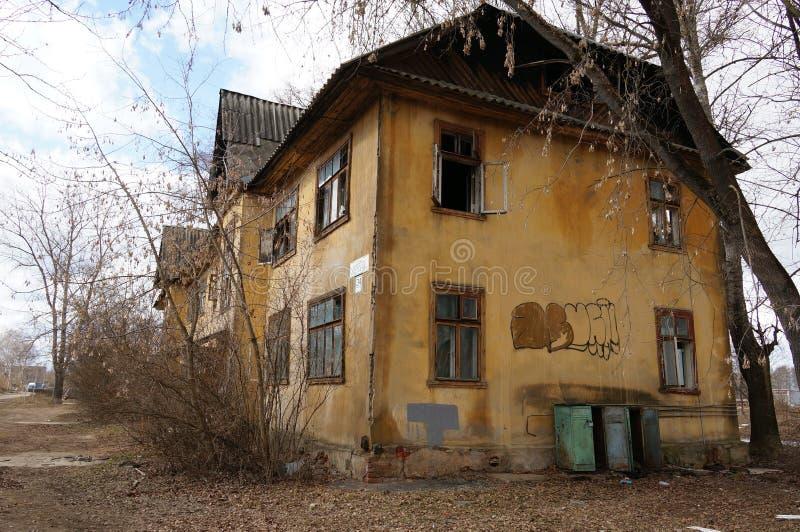 Download Stary dom obraz editorial. Obraz złożonej z podłoga, grunge - 53787100