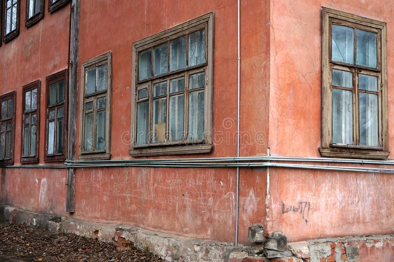 Download Stary dom obraz stock. Obraz złożonej z zły, ruina, horror - 53789433