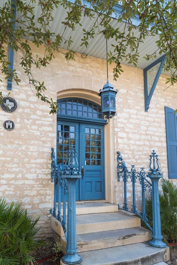 Stary dom w centre Austin Teksas zdjęcia stock