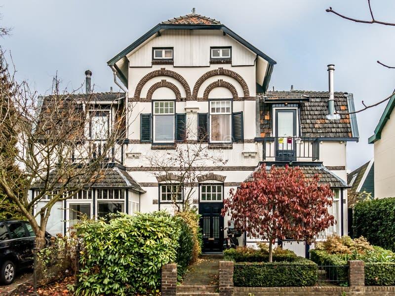 Stary dom w Hilversum, Holandia fotografia stock