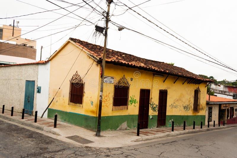 Stary domu El Hatillo Miranda stan Caracas Wenezuela obraz royalty free