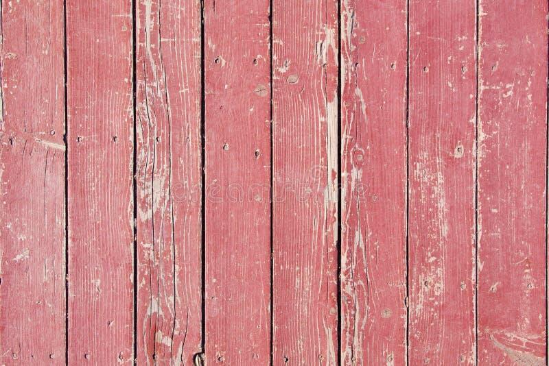 Stary drewniany czerwony podłogowy tekstury zbliżenie Pionowo paski _ obrazy stock