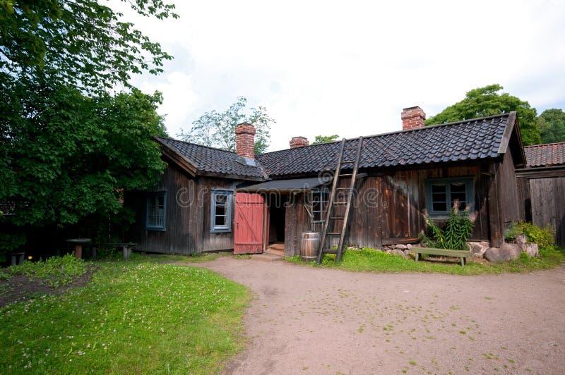 Stary drewniany dom zdjęcia stock