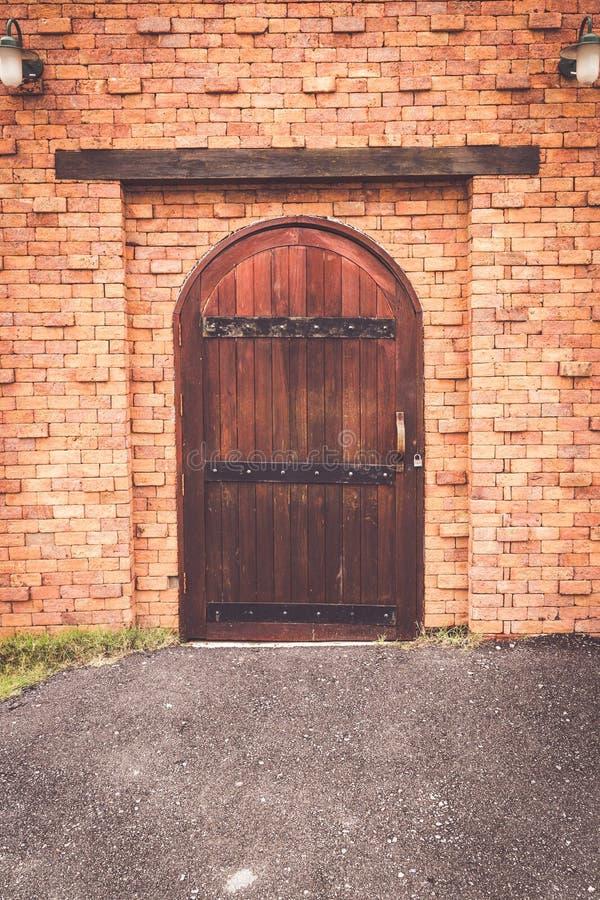 Stary drewniany drzwi zdjęcia stock