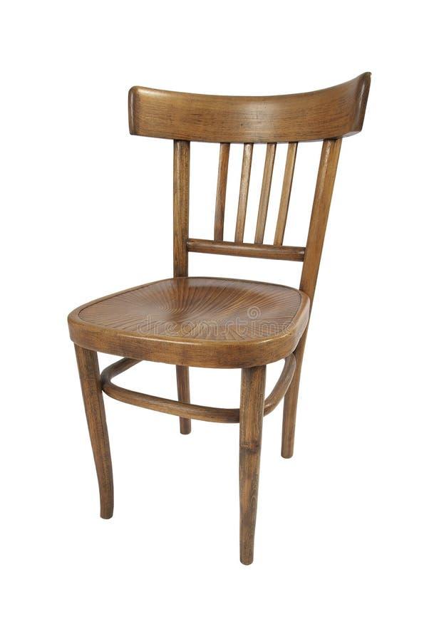 Stary drewniany krzesło obraz royalty free