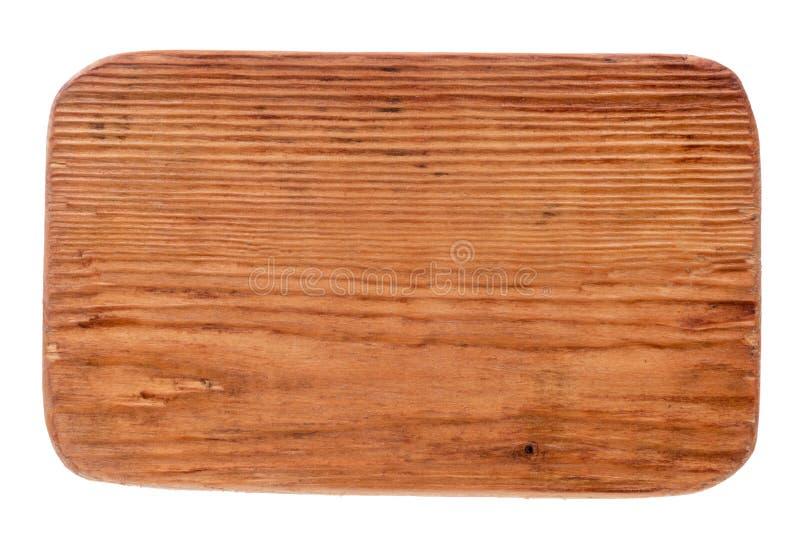 Stary drewniany signboard lekki drewno odosobniony zdjęcia royalty free