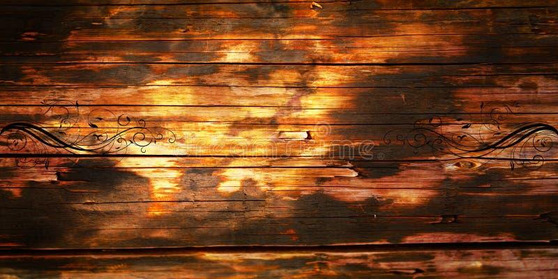 Stary drewniany tło fotografia stock