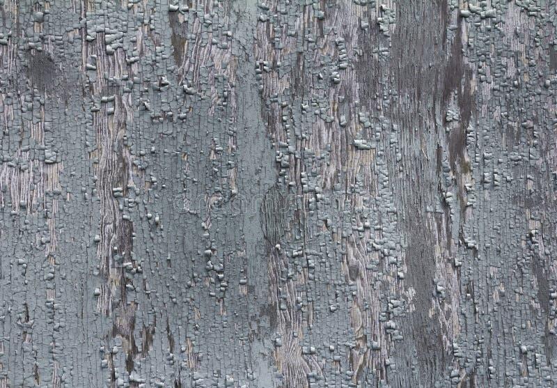 Stary drewniany tło z obieranie farbą zdjęcia royalty free