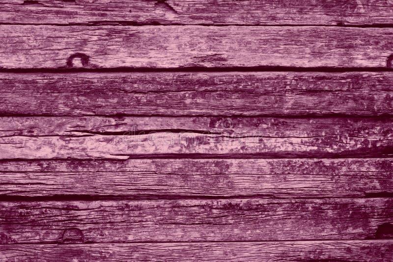 Stary drewno menchii koloru barwidła brzmienie fotografia royalty free