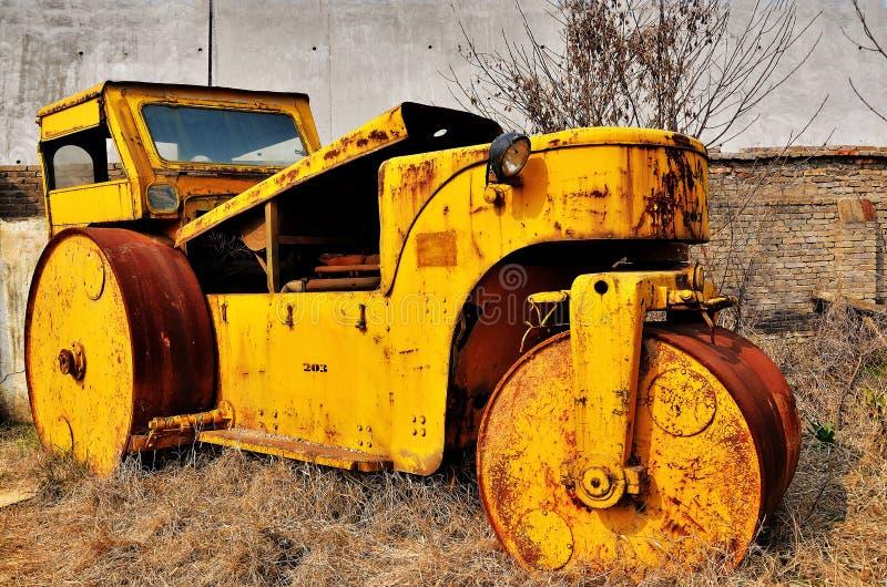 stary drogowy rolownik obraz stock