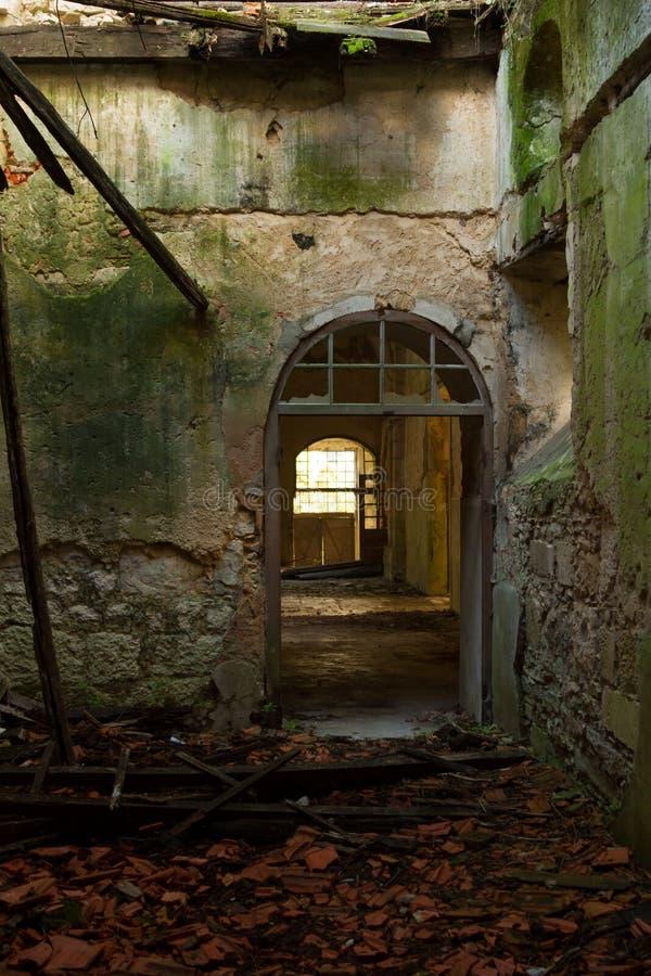 Stary drzwi fotografia stock
