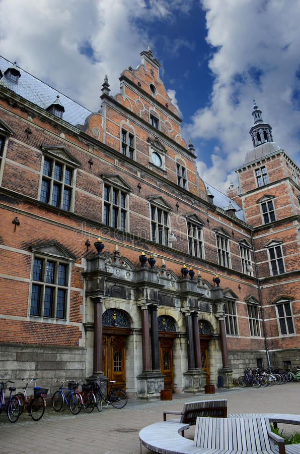 Stary dworzec Helsingor Dani zdjęcia stock