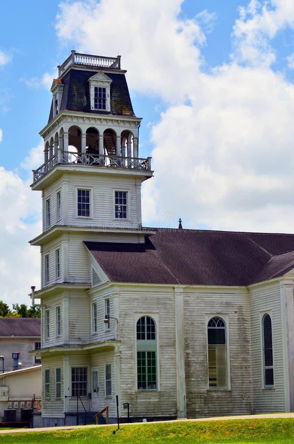 Stary dzwonkowy wierza w południowym Luizjana 02 obraz royalty free