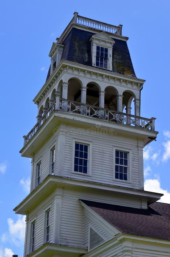 Stary dzwonkowy wierza w południowym Luizjana 01 zdjęcia stock
