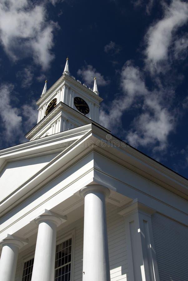 stary edgartown wielorybnictwo kościoła. obraz stock