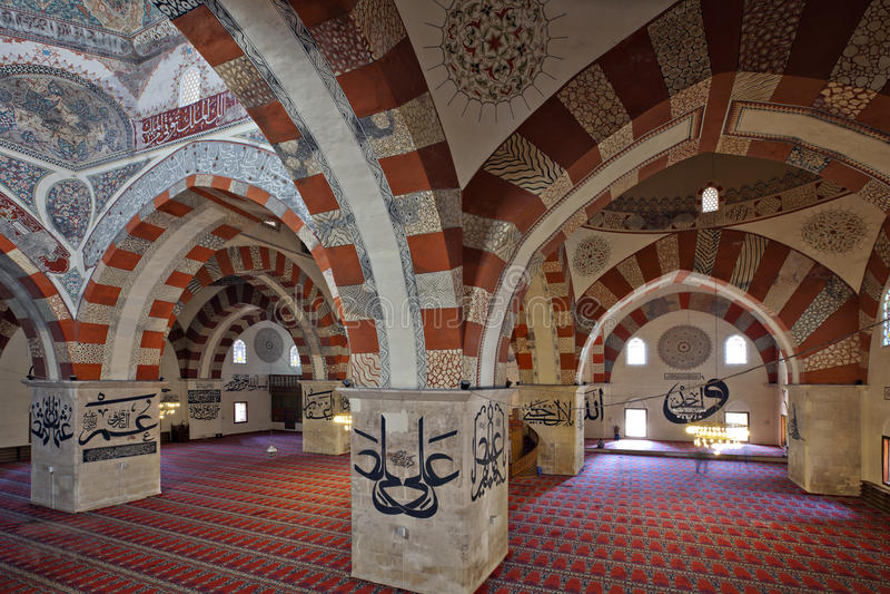stary Edirne meczet zdjęcie royalty free