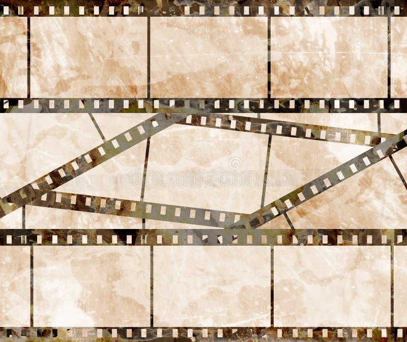 Stary ekranowy pasek ilustracji