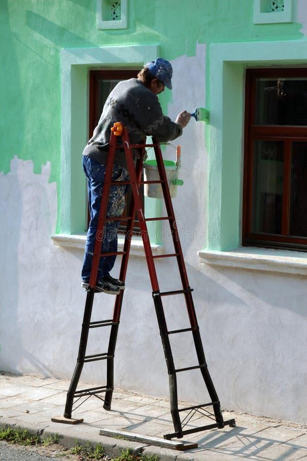 stary farby mur domowa obrazy royalty free