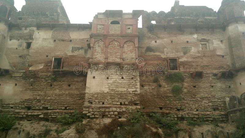 Stary fort Maharaja Mahendra Singh obrazy royalty free