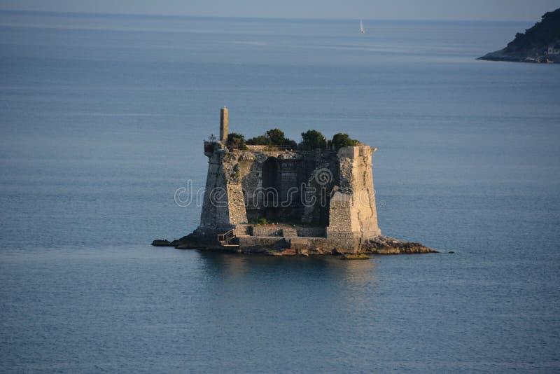 Stary fort w morzu zdjęcie royalty free