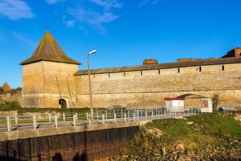 Stary Forteczny Oreshek zdjęcie stock