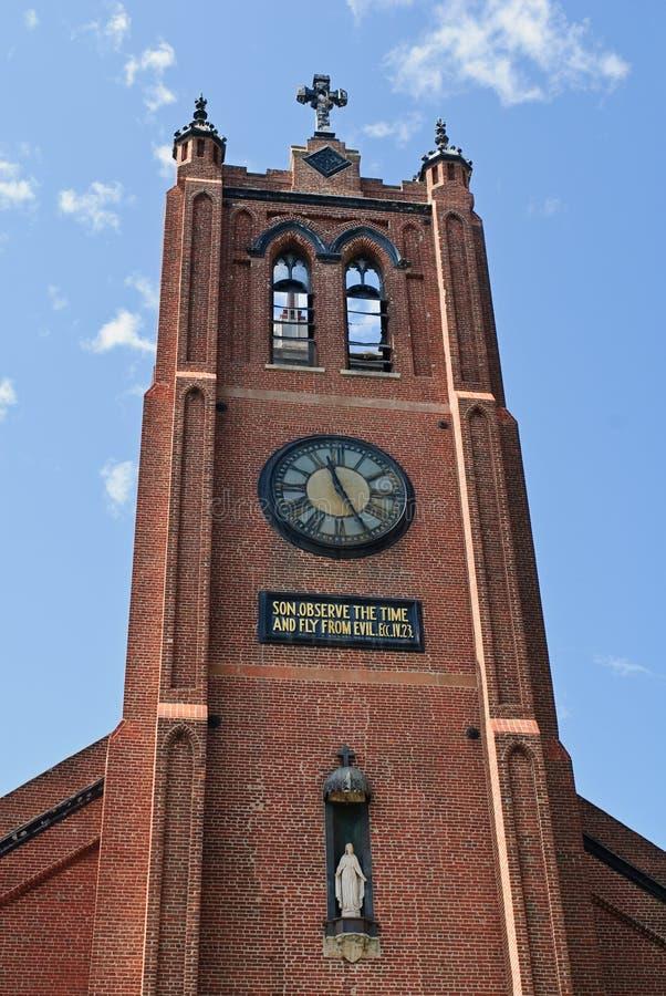 stary Francisco katedralny st Mary s San obrazy stock