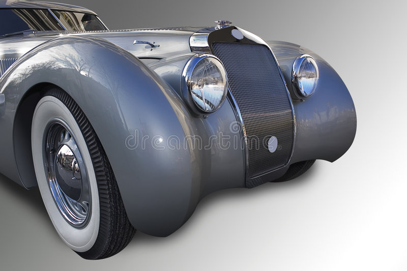 stary francuski samochodowy ilustracji