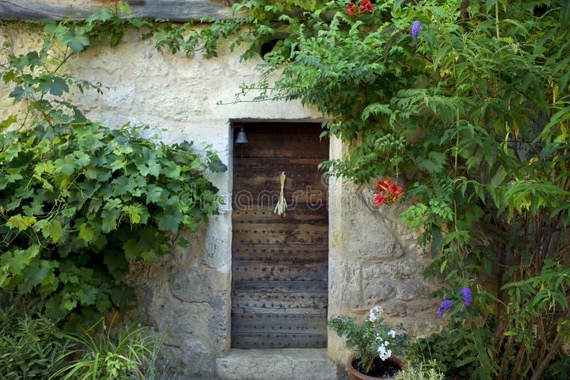 Stary francuza gospodarstwa rolnego dom obrazy stock