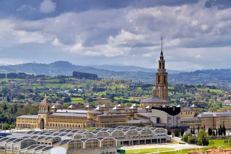 stary Gijon uniwersytet Spain obraz royalty free