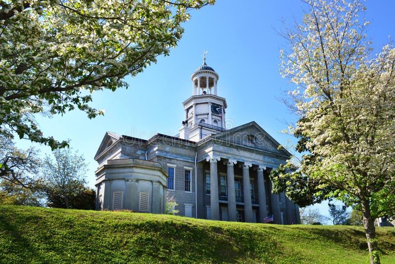 Stary gmach sądu w Vicksburg, Mississippi zdjęcie stock