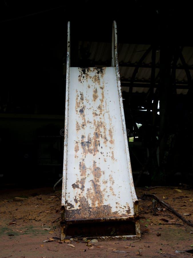 Stary gnicia żelaza suwak zdjęcie royalty free