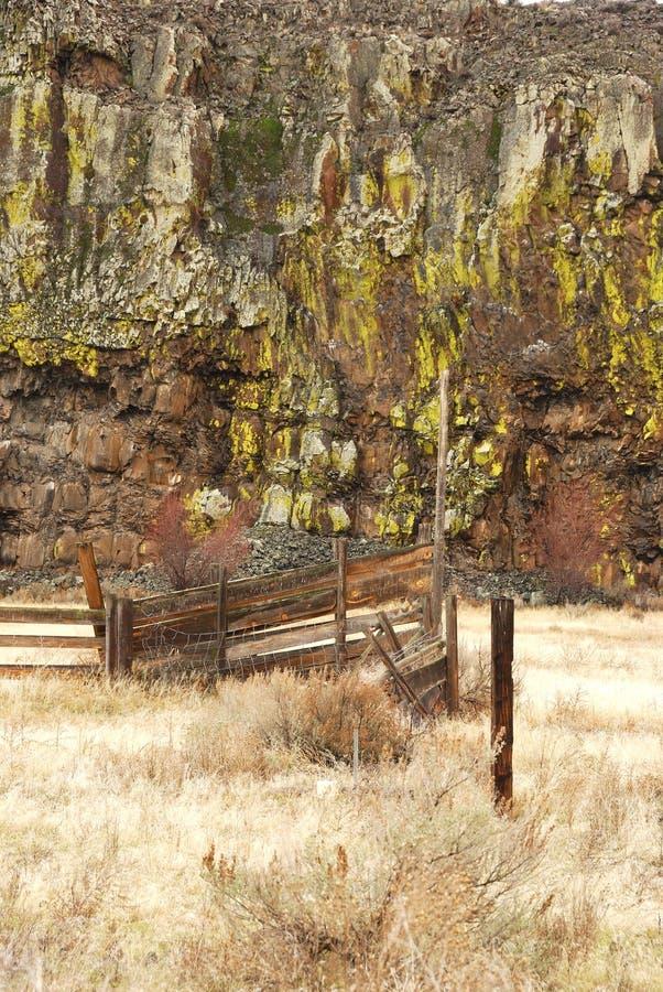 Stary gospodarstwo rolne zdjęcie stock