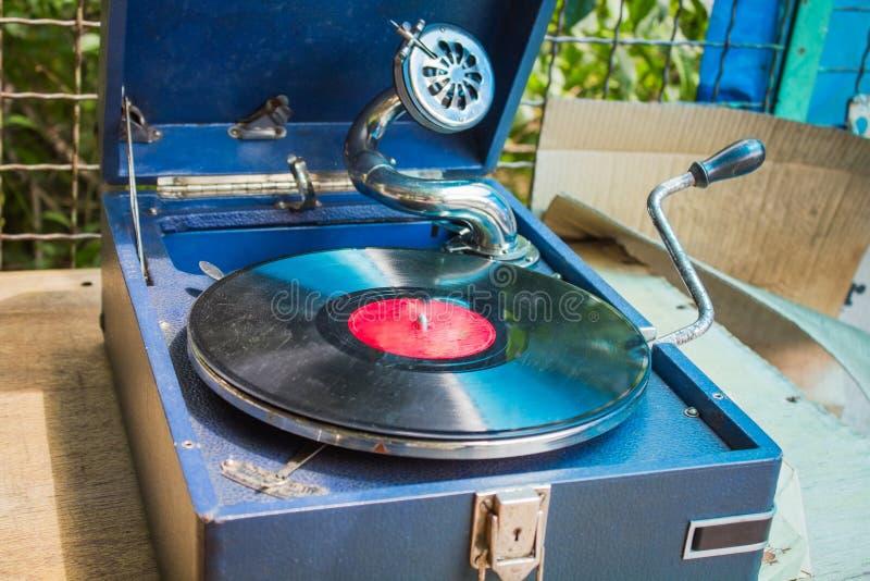 stary gramofonowy rocznik obrazy stock