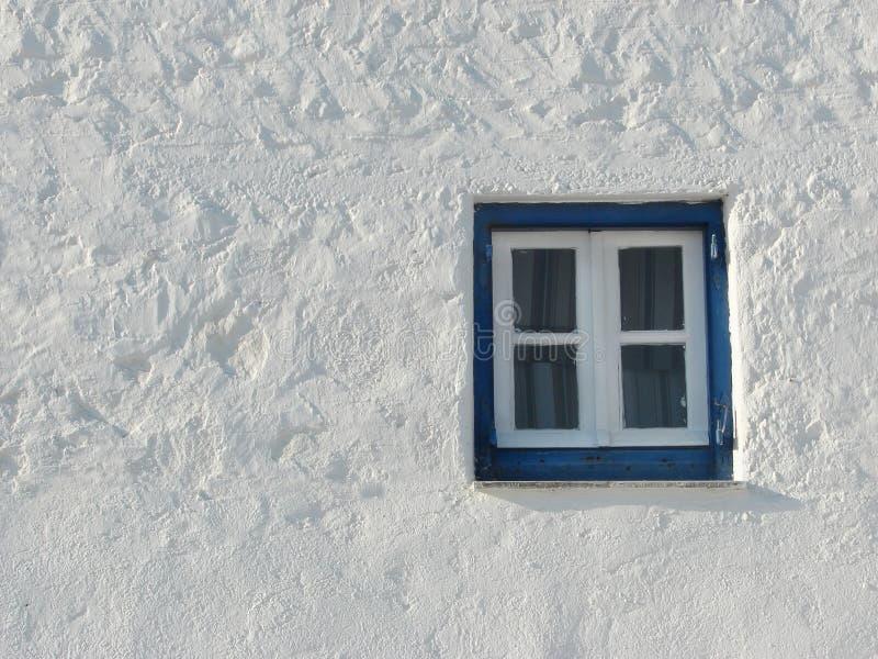 stary grecki okno zdjęcie royalty free