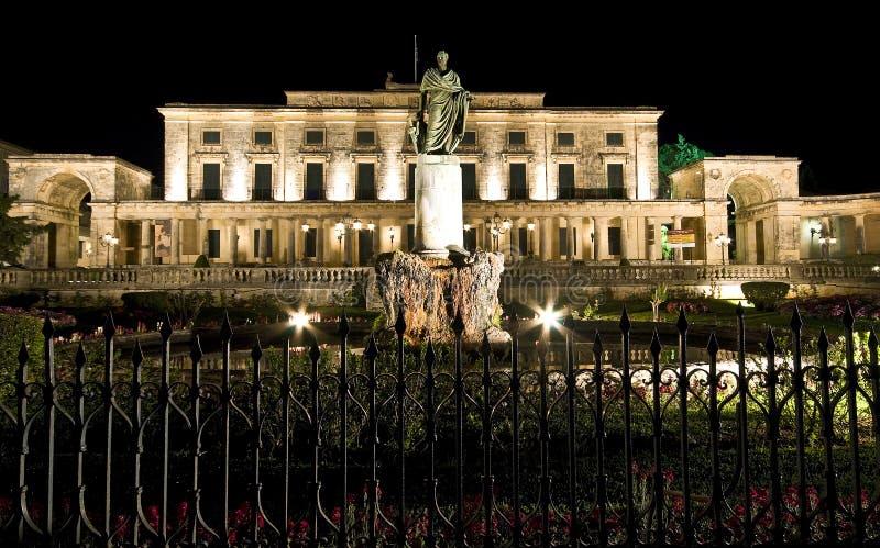 stary Greece brytyjski pałac zdjęcia stock