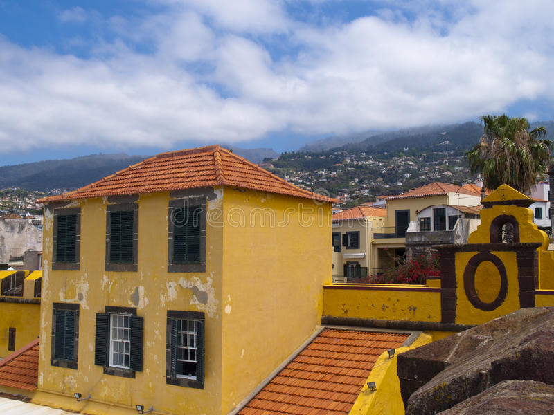 stary grodowy Funchal obrazy stock