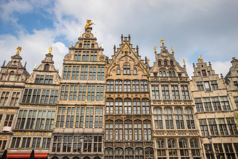 Stary grodzki Antwerp Belgium fotografia stock