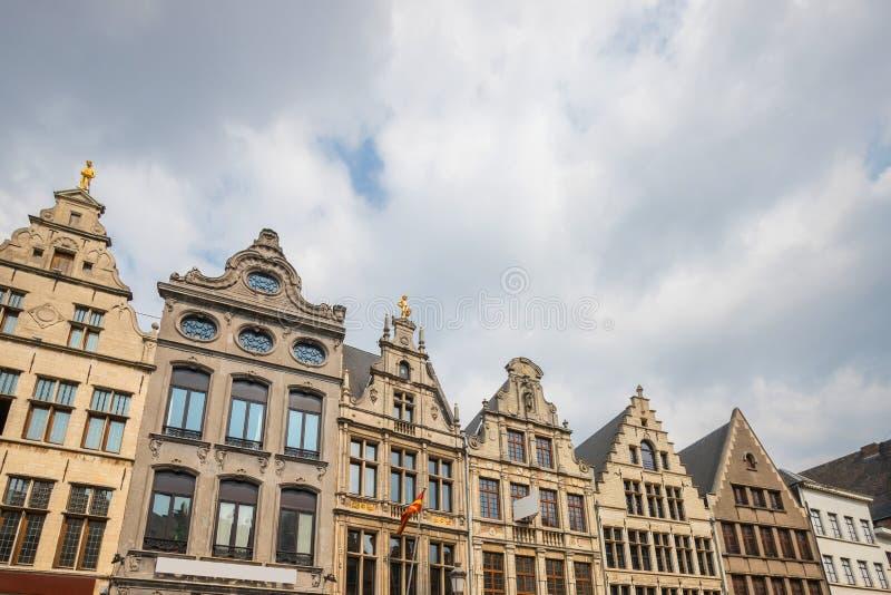 Stary grodzki Antwerp Belgium zdjęcia royalty free