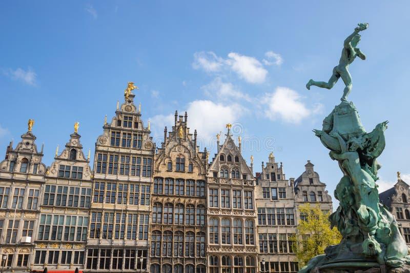 Stary grodzki Antwerp Belgium zdjęcie stock